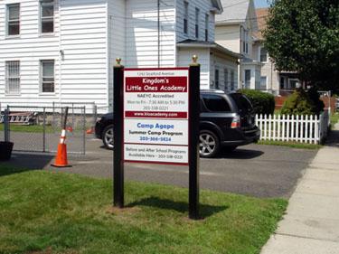 Multi-Panel Ground Sign